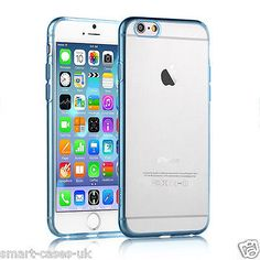 CLEAR Hard Back Silicone TPU Bumper Case Cover For New Apple iPhone