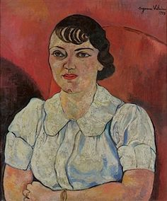 PORTRAIT DE MADAME PAUL PETRIDES By Suzanne Valadon ,1937