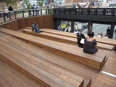 The High Line amphitheater
