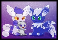 The Two Meowstic Balloons by CaninePrince.deviantart.com on @DeviantArt