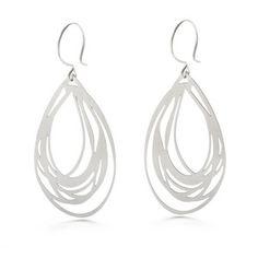Oyster Earrings Steel