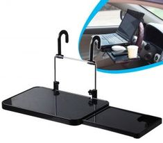 Hearty Car Laptop Stand Notebook Desk Steering Wheel Tray Table Food/drink Holder Car Mounts & Holder