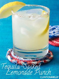 Spike your lemonade with tequila and cilantro simple syrup to create ...