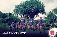 #momentoEnjoy15 es la foto en el #arbolDeLaVida