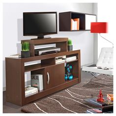 Rack Tv 140x38,5x90 cm Wengue -Sodimac.com