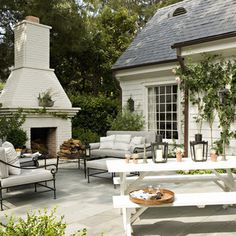 Rustic Canyon New Home - transitional - patio - los angeles - Tim Barber LTD Architecture & Interior Design