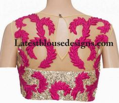 Net blouse