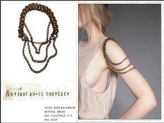 Shoulder, body jewelry.