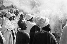 Santu Mofokeng, Easter Sunday Church Service, From the series 'Chasing Shadows. © The Santu Mofokeng Foundation.