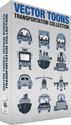 Transportation collection #airplane #automobile #boat #car #concretetruck #dumptruck #helicopter #plane #ship #snowplow #taxi #transport #transportation #truck #vehicle