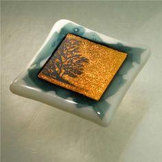 "Glass Cabinet Knobs | Jorwes 1.5"" Fused Glass Cabinet Knobs"