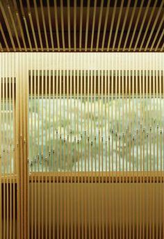 Giappone: l'hotel Ginzan Onsen Fujiya di Kengo Kuma Legno, bamboo e luci morbide per il relax e la cura dello spirito