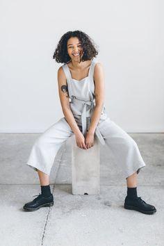 Naomi jumpsuit / Linen jumpsuit/ Oversized jumpsuit/ Summer - ETSY