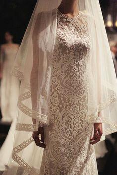 Naeem Khan Bridal | Fall 2014