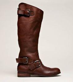 DV by Dolce Vita: Zela boot in brown $169.00