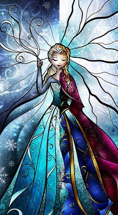 Sisterly love Art Print ~ Frozen