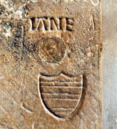 """""""Jane"""" carved in the wall of the Beauchamp Tower, Tower of London. Thought by some to be carved by Guildford Dudley as a tribute to his wife."""