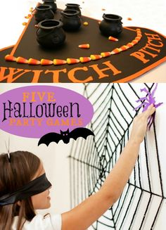 Halloween Party Game Ideas! #halloween #kids