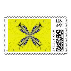 Fractal Butterfly Postage