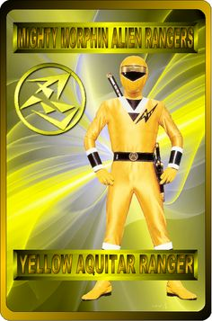 Yellow Aquitar Ranger by rangeranime.deviantart.com on @DeviantArt