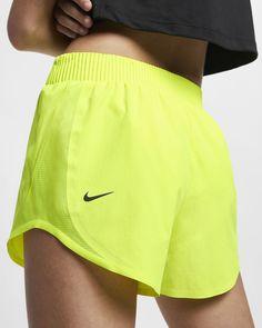 Nike Tempo Women's Running Shorts. Nike.com Nike Tempo Shorts, Shorts Nike, Gym Shorts Womens, Yellow Shorts Outfit, Running Shorts Outfit, Cheer Shorts, Sporty Summer Outfits, Cheer Outfits, Nike Outfits
