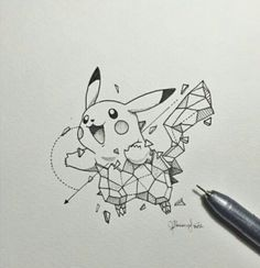 Pikachu | Geometric Beasts
