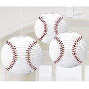 Baseball Paper Lanterns
