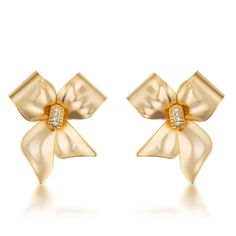 472c1eb35 8 Best Gold Fashion Earrings images | 18k gold, Black chandelier ...