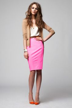 pencil skirt. | First Attempt at Curating A Personal Style ...