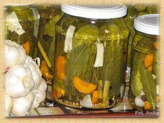 Domowa kuchnia Aniki: Ogórki konserwowe czyli korniszony