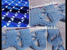 tunisian scarf