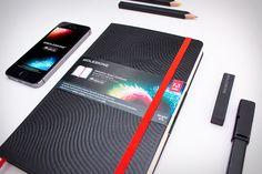 Moleskine Smart Notebook with Adobe Creative Cloud Synchronization $33 #gadget