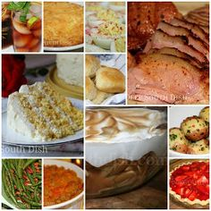 Deep South Dish: Southern Easter Menu Ideas and Recipes  (IOW  this is why I became a fatty in the south. Fooood!!)