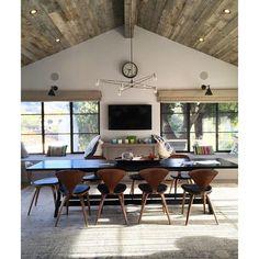 Our Original Cord Chandelier in a Malibu home by @mariahobrieninteriors  via @jgo8 #yourspaceourlights by brendanravenhillstudio