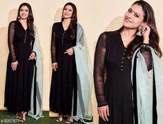 Gowns Attractive Black colored Georgette full stitched Box Plated partywear Floor touch Gown with pure organza Duppata  Fabric: Georgette Sizes: XXXL (Bust Size: 46 in Length Size: 56 in)  XXL (Bust Size: 44 in Length Size: 56 in) L (Bust Size: 40 in Length Size: 56 in)  M (Bust Size: 38 in Length Size: 56 in)  S (Bust Size: 36 in Length Size: 56 in) XL (Bust Size: 42 in Length Size: 56 in) Country of Origin: India Sizes Available: S, M, L, XL, XXL, XXXL   Catalog Rating: ★4 (433)  Catalog Name: Classy Graceful Women Gowns CatalogID_1390223 C79-SC1289 Code: 8621-8307671-4083