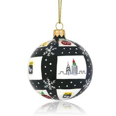 Ornaments by Michael Storrings: NYC Check (SAKS EXCLUSIVE)