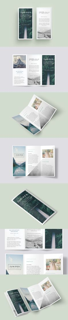 A Beautiful Multipurpose Tri-Fold DL Brochure Template InDesign INDD                                                                                                                                                                                 More