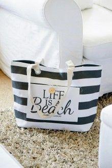 Life is a beach bag € 29,95