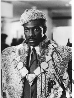 He was the son of a king. Akeem said bossy shit  all the time without even knowing it.