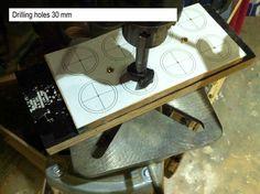 Wooden toys wheel making #5: Rims part 1