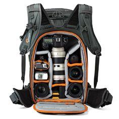 LOWEPRO WHISTLER - la #mochila para los verdaderos amantes de la #fotografía.