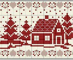 Cross Stitch Borders, Cross Stitch Designs, Cross Stitching, Cross Stitch Embroidery, Embroidery Patterns, Cross Stitch Patterns, Knitting Charts, Knitting Patterns, Crochet Patterns