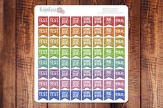Glitter Mini #College Student Planner Stickers by BellaRosePaperCo #planneraddict #erincondren