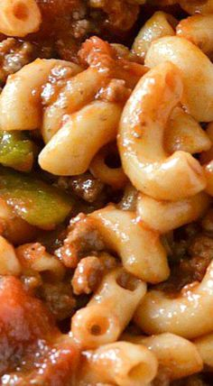 Classic-American Style Goulash                                                                                                                                                                                 More