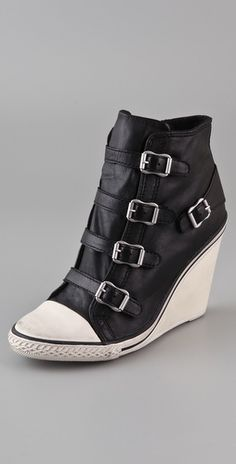 Rock star shoes. I could see Rihanna in these!  Ash shoes, $200.