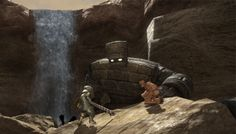 """#FFXIV #DQ10 Developers' Blog post """"Between a golem and a hard place"""""""