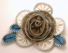 Zipper Flower Ideas