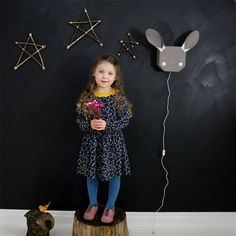 ANIMAL AND FLOWER WALL LIGHTS - SPANISH TYPOGRAPHIC PRINTS - TAPESTRIES – And so to Shop Kids Bedroom, Bedroom Decor, White Chalk Paint, Bunny Rabbit, Flower Wall, Tapestries, White Light, Hand Stitching, Spanish