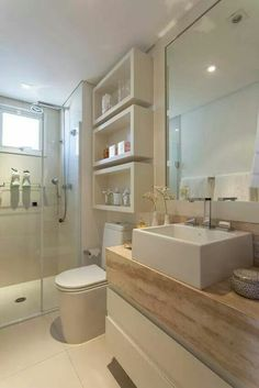 Kleine ruimte badkamer