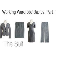 Working Wardrobe Basics, Part 1 Wardrobe Basics, Work Wardrobe, Capsule Wardrobe, Wardrobe Ideas, Stylish Office Wear, Work Attire, Work Outfits, Corporate Style, Working Woman